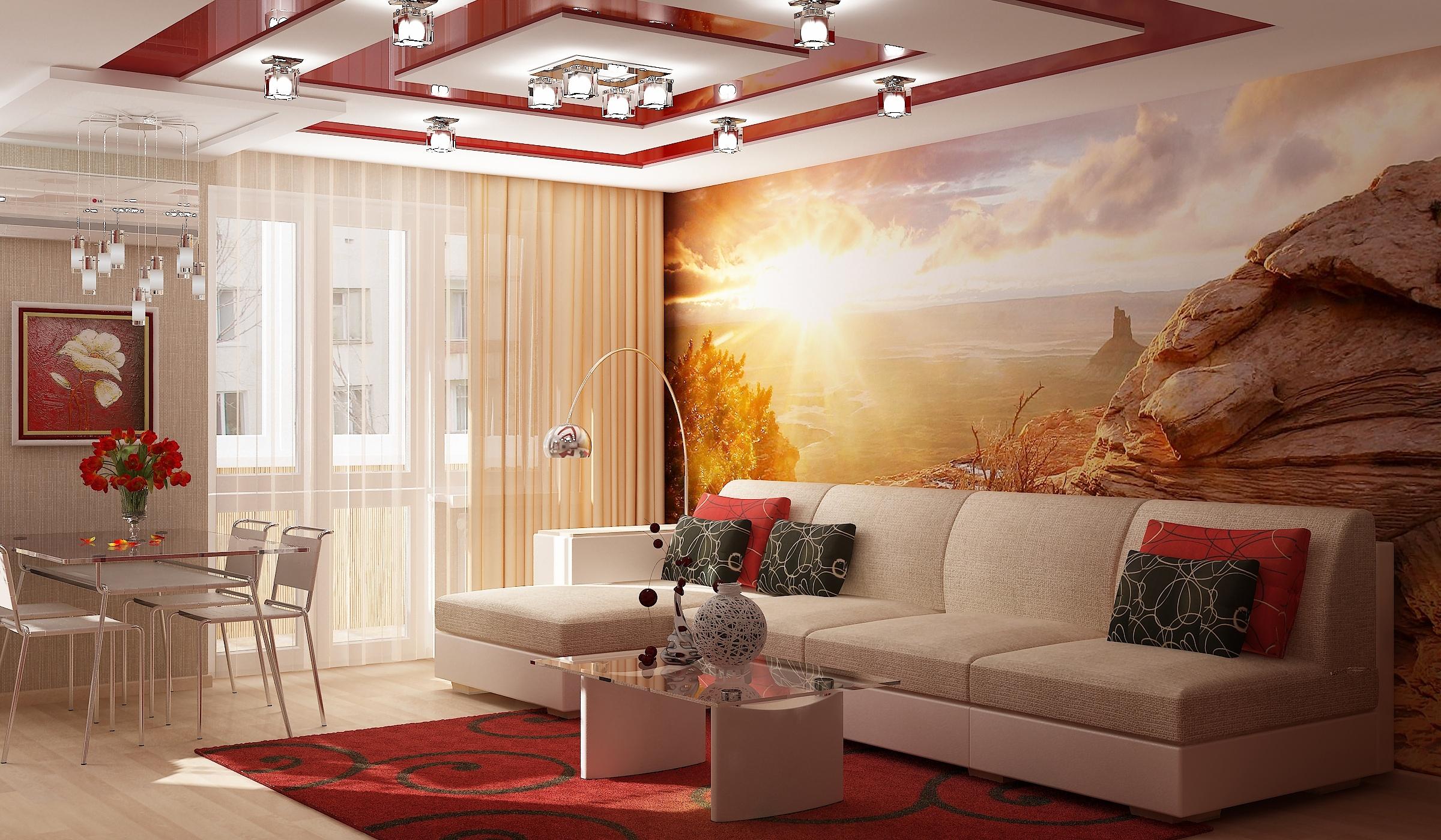 Красивый ремонт в квартире картинки